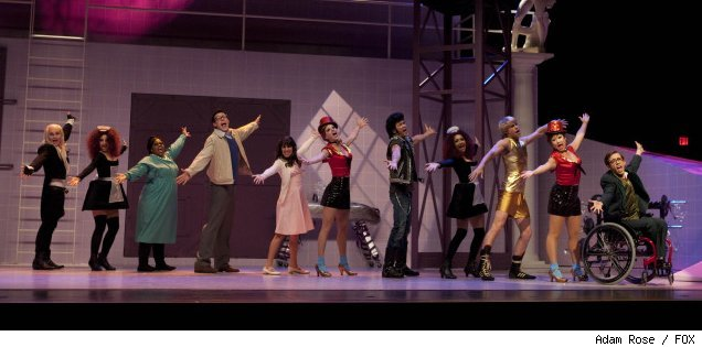 New Directions perfrom on 'The Rocky Horror Glee Show' on FOX