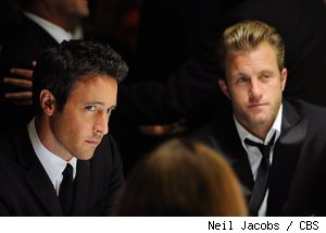 Alex O'Loughlin and Scott Caan in 'Hawaii Five-0' on CBS