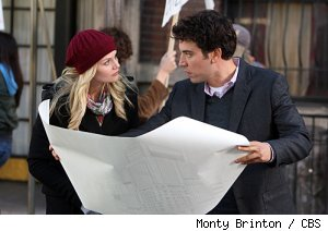 Jennifer Morrison and Josh Radnor in 'HIMYM' - 'Architect of Destruction' on CBS