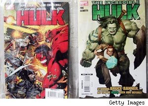 Hulk comics