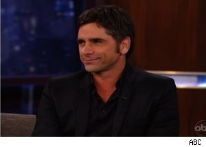 John Stamos Talks 'Glee' on 'Jimmy Kimmel Live'