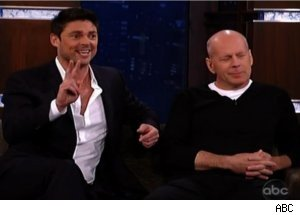Bruce Willis, Karl Urban on 'Jimmy Kimmel Live'
