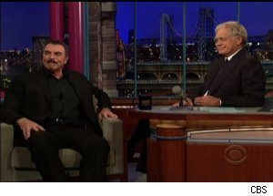 Tom Selleck, 'Late Show With David Letterman'