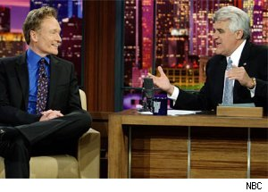 Leno interviews Conan during happier times