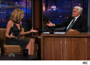 Heidi Klum and Jay Leno Discuss Her Victoria's Secret Retirement