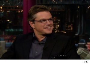 Matt Damon Talks Ben Affleck on 'Late Show'