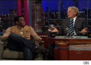Sean 'Diddy' Combs Explains 'Sexting' to David Letterman