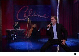Will Ferrell Performs as 'Celine Dion' on 'Late Show'