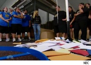 'Biggest Loser': Letters From Home Lead to Tears