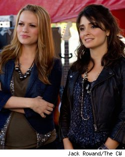 Bethany Joy Galeotti and Shiri Appleby