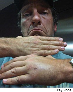 Mike Rowe, 'Dirty Jobs'