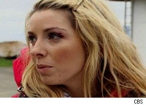 'Amazing Race': Brook Cuts Her Eyelid on a Car Door