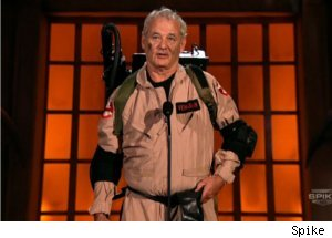 Bill Murray Accepts Award as Ghostbuster on 'Scream 2010'