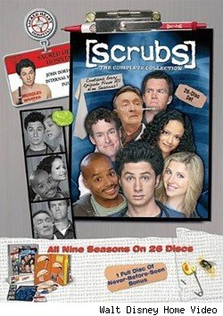 Scrubs DVD