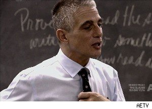 On 'Teach,' Tony Danza Literally Sweats Through His First Day of School