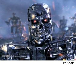 This is a terminator. It's also probably what the future will look like if what I'm hearing on Glenn Beck every night is true.