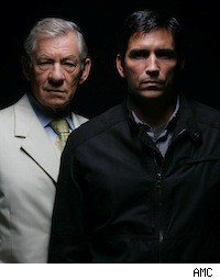 Ian McKellan and Jim Caviezal on AMC's 'The Prisoner'