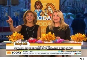 Hoda and Kathy Lee on 'Today'