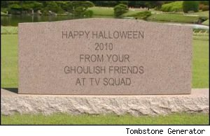TV Squad presents its annual listing of TV fare for Halloween.