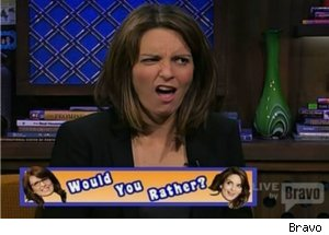 Tina Fey Plays Would You Rather on 'Watch What Happens Live'