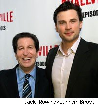 Peter Roth and Tom Welling