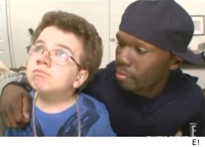 Keenan Cahill Raps With 50 Cent on 'Chelsea Lately'