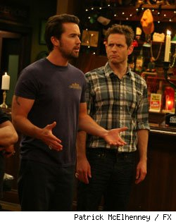 Rob MacElhenney and Glenn Howerton