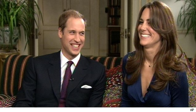 Prince William and Kate Middleton in their first interview after announcing their engagement