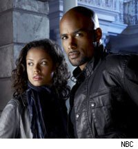 Gugu Mbatha-Raw and Boris Kodjoe