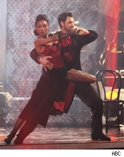 Brandy and Maksim Chmerkovskiy on 'Dancing With the Stars'
