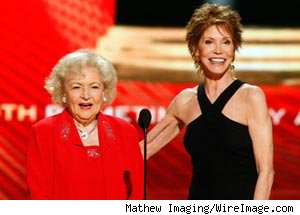 Betty White, Mary Tyler Moore