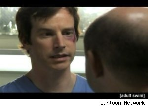 Owen Is Abused by a Child on 'Childrens Hospital'