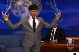 'Glee's' Chris Colfer Shows Off His Ninja Skills on 'Conan'