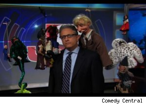 Jon Stewart Mocks 'Puppet Master' on 'Daily Show'