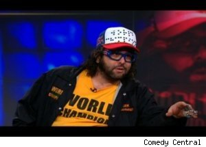Judah Friedlander Talks Karate on 'Daily Show'
