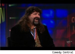 Mick Foley Talks Wrestling and Writing on 'Daily Show'