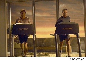 Michael C. Hall and Jonny Lee Miller on Dexter