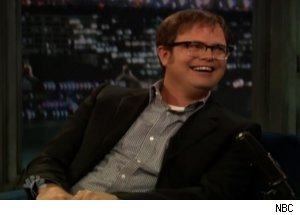 Rainn Wilson Talks New 'Office' Boss on 'Late Night'