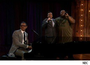 Jeff Goldblum, Jimmy Fallon and Biz Markie Sing 'Just a Friend'