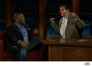 Tyler Perry Talks Fear of Flying on 'Late Late'
