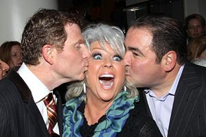 Bobby Flay, Paula Deen, Emeril Lagasse
