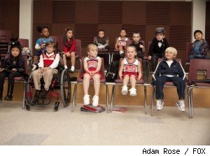 Will hallucinates that the Gleesters are little kids in 'Glee' - 'The Substitute' 