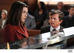 Julianna Margulies, Michael J. Fox