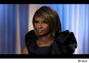 Iman Argues with Designer on 'Fashion Show'