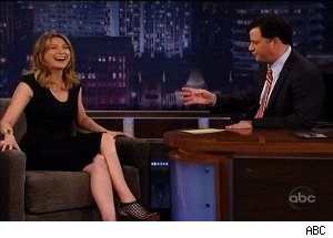 Six-Toed Ellen Pompeo on 'Jimmy Kimmel Live'
