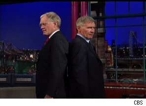 Harrison Ford and David Letterman See Eye-to-Eye (Almost)