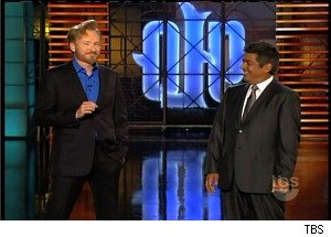 Conan O'Brien Makes a Surprise Appearance on 'Lopez Tonight'