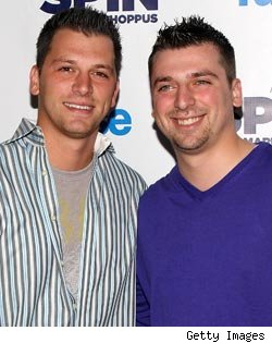 Albie and Chris Manzo