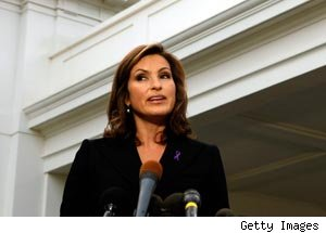 Mariska Hargitay at the White House
