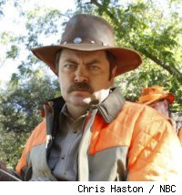 Nick Offerman of 'Parks and Recreation'